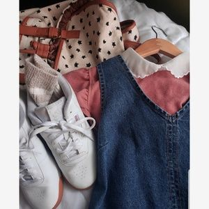 Free People Tops - Pink Preppy Blouse